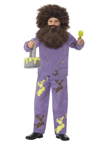 Roald Dahl Mr Twit Costume, Purple