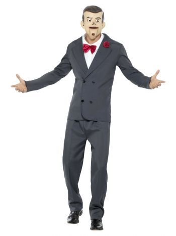 Goosebumps Slappy the Dummy Costume, Grey