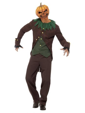 Goosebumps Jack-O'-Lantern Costume, Black & Orange