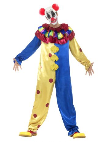 Goosebumps Clown Costume, Multi-Coloured