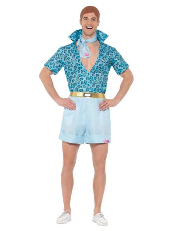 Barbie, Safari Ken Costume, Blue