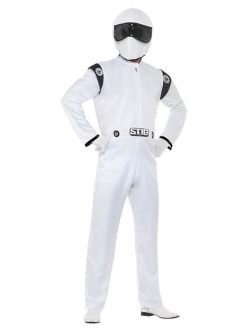Top Gear, The Stig Costume, White
