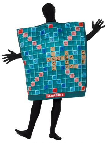 Scrabble Board Costume, Green