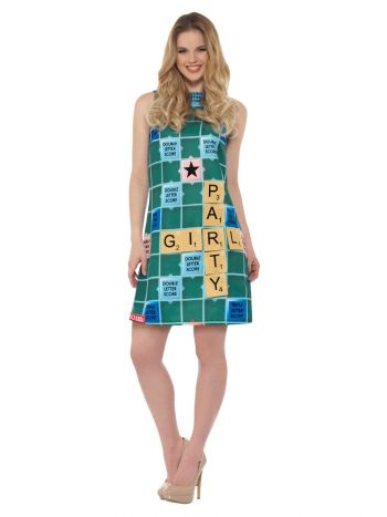 Scrabble Costume, Green