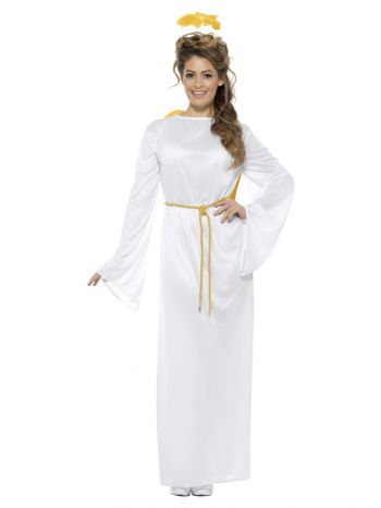 Angel Gabriel Costume, Unisex, White