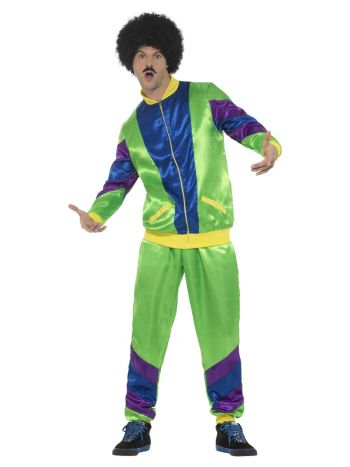 80s Height of Fashion Shell Suit Costume, Male