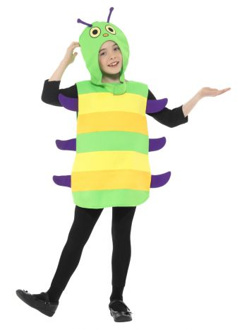 Caterpillar Costume, Multi-Coloured