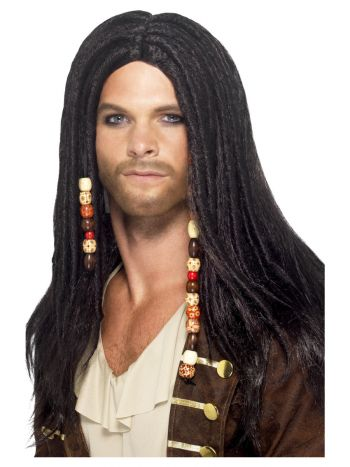 Pirate Wig, Black