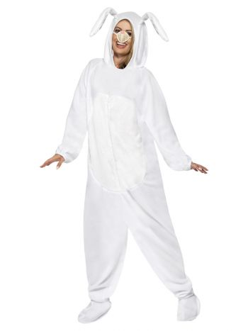 Rabbit Costume, White