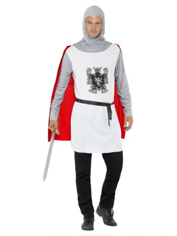 Knight Costume, Economy, White