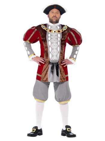 Deluxe Henry VIII Costume, Red