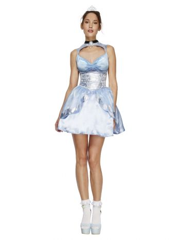 Fever Magical Princess Costume, with Dress, Blue