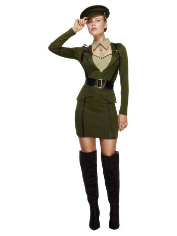 Fever Captain Costume, Khaki