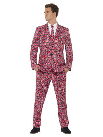 Union Jack Suit, Red