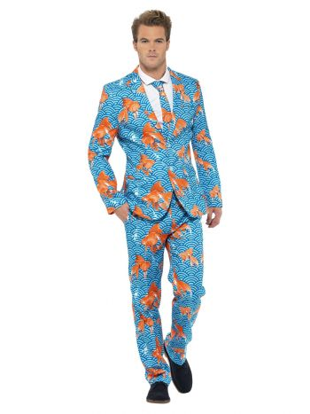 Goldfish Suit, Blue