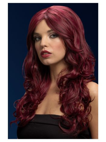 Fever Nicole Wig, Red Cherry, Red