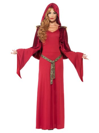 High Priestess Costume, Red