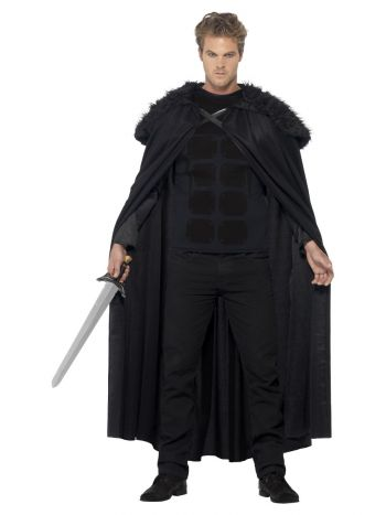 Dark Barbarian Costume, Black