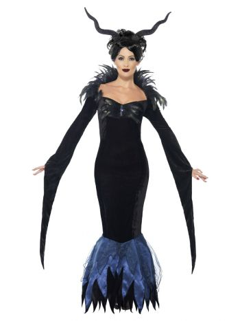 Lady Raven Costume, Black