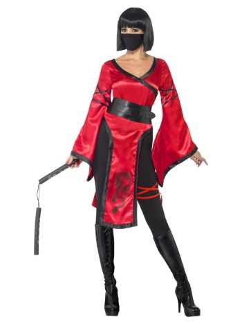 Shadow Warrior Costume, Red