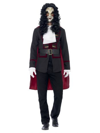 Venetian Highwayman Costume, Black