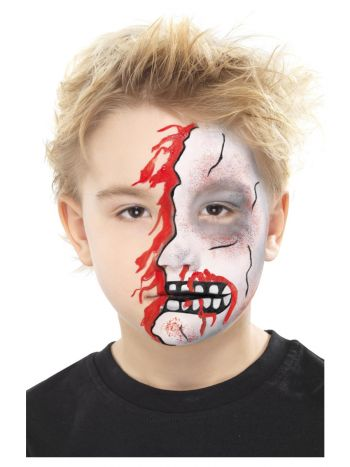 Smiffys Make-Up FX, Halloween Character Kit, Aqua,