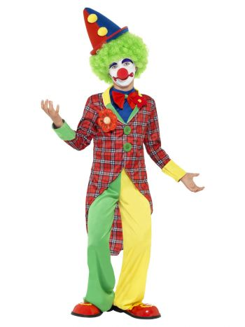 Clown Costume, Red