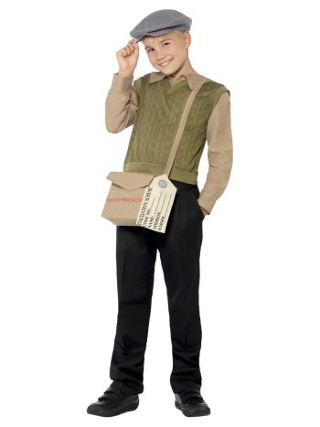Evacuee Boy Kit, Green