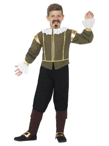 Shakespeare Costume, Green