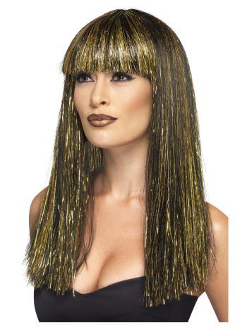 Egyptian Goddess Wig, Black
