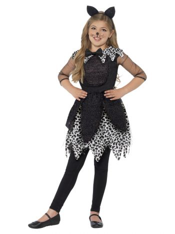 Deluxe Midnight Cat Costume, Black