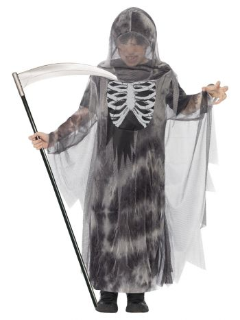 Ghostly Ghoul Costume, Grey