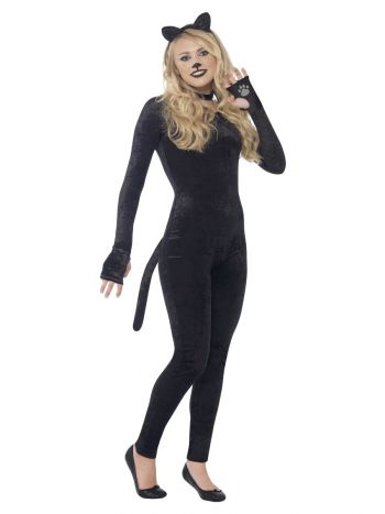 Cat Costume, Black
