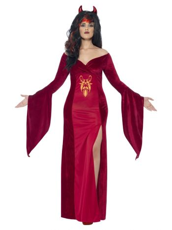 Curves Devil Costume, Red