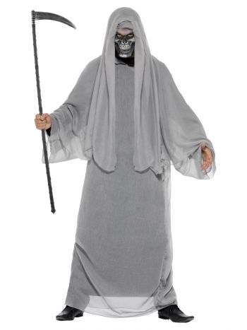 Grim Reaper Costume, Grey