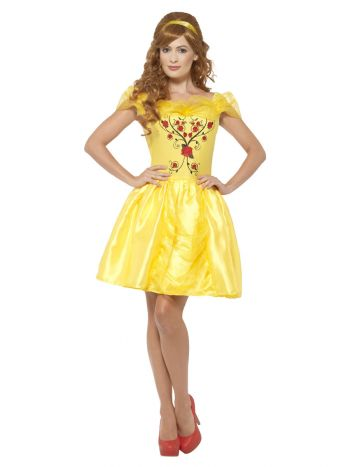 Enchanting Beauty Costume, Yellow