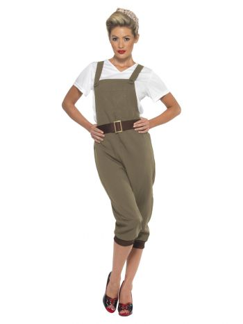 WW2 Land Girl Costume