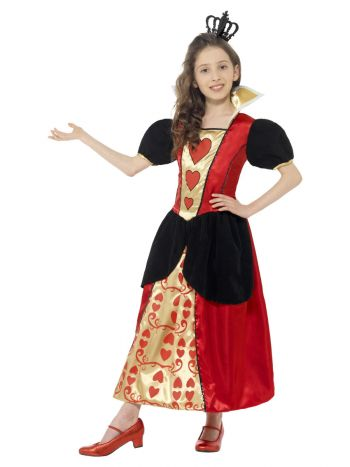 Miss Hearts Costume, Red