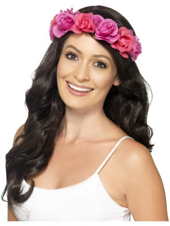 Floral Headband, Pink