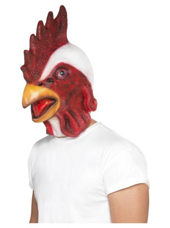 Chicken Mask, White