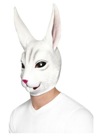 Rabbit Mask, White