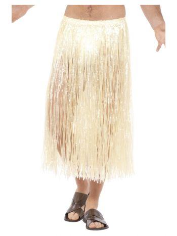 Hawaiian Hula Skirt, with Velcro Fastening, Natura