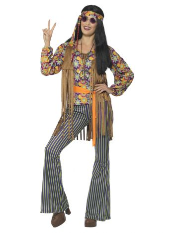 60s Singer Costume, Female, Multi-Coloured