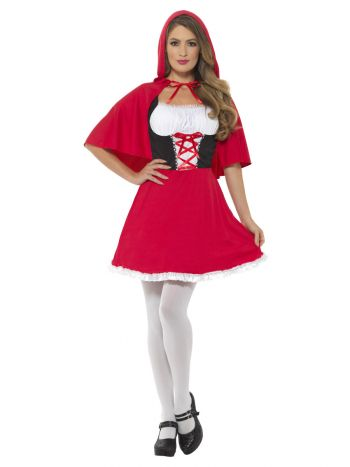 Red Riding Hood Costume, Red