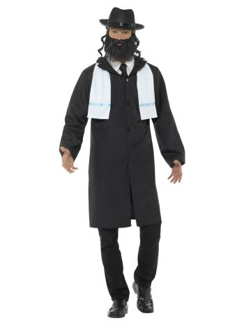 Rabbi Costume, Black