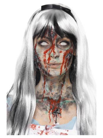 Smiffys Make-Up FX, Zombie Liquid Latex Kit, Multi