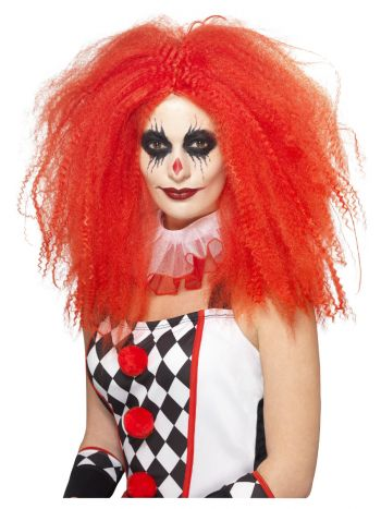 Clown Wig, Red