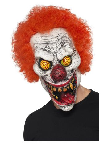 Twisted Clown Mask, Red