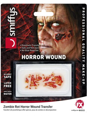 Horror Wound Transfer, Zombie Rot