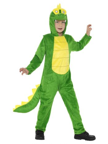 Deluxe Crocodile Costume, Green
